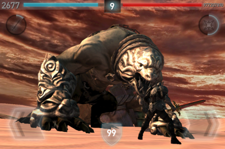 Infinity Blade II: ClashMob Screenshot 2