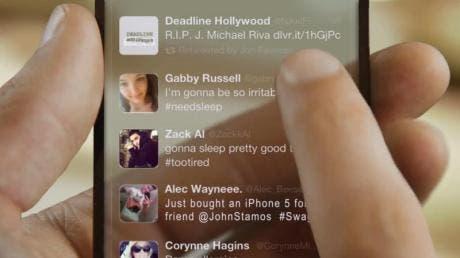 Transparent iPhone