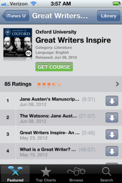 The Great Writer's Inspire course from Oxford University