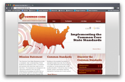 Common Core Initiative website