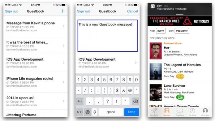 Guestbook app
