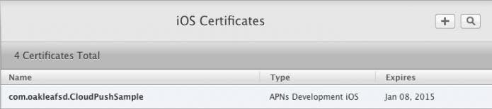 iOS Certificates