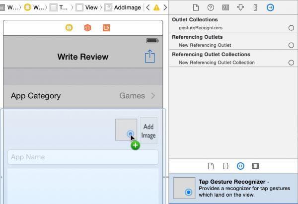 add a tap gesture recognizer