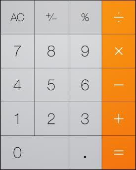 Calculator background image