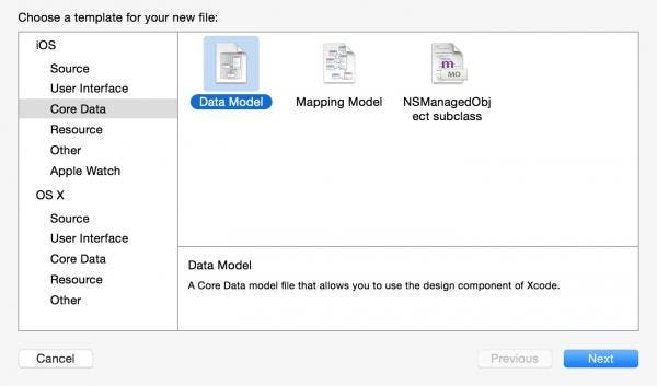 Add a Data Model