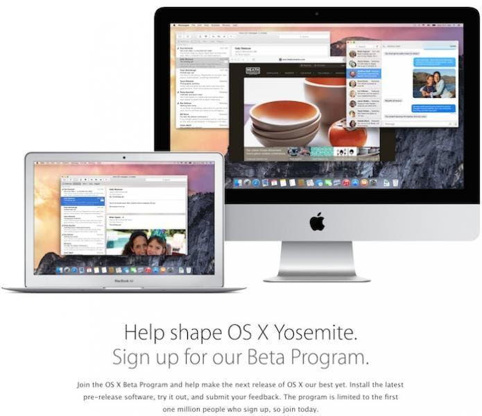 OS X Beta Program