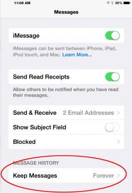 how to get old text messages on iphone