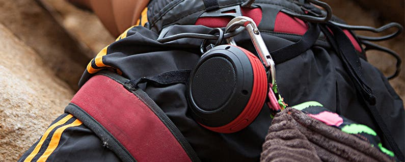 Top 5 Rugged and Ultra-Portable Clip-On Bluetooth Mini-Speakers for Summer Adventures.