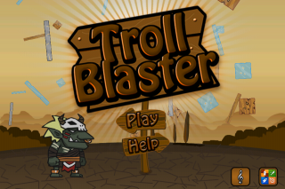 Software Firm eMobiSoft Launches Troll Blaster Physics Strategy Game for Apple iOS