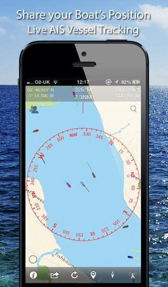 Siva's Reviews: Boat Beacon Navigation App
