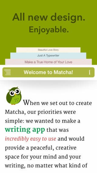 This Writer Has a New Favorite Writing App: Introducing Matcha.