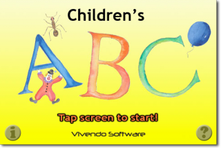 Children's ABC - iPhone/iPad app with hand painted illustrations