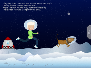 Interactive kids book Angus and Max Blast Off comes to iPhone and iPad