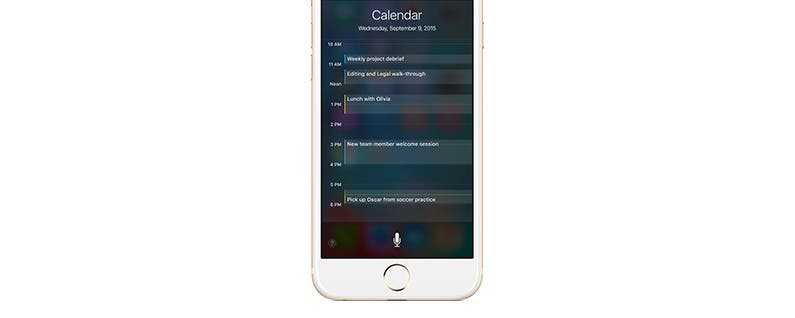 How to Check Your Schedule with Siri