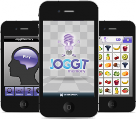 Get Joggit Memory to exercise your brain. It's a New Year's resolution you can keep.