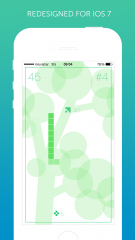 Discover a completely redesigned Snake for iOS 7