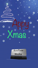 Appy Xmas iOS App - Post a Festive Song to Facebook & Twitter Friends