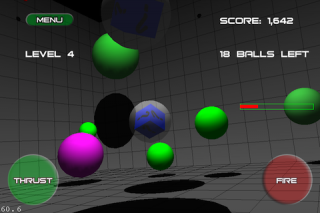 Ball Pit 2.0 - Free 3D game uniquely utilizes iPhone 4's Gyroscope