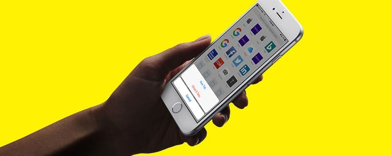 how to open new tab in safari on iphone
