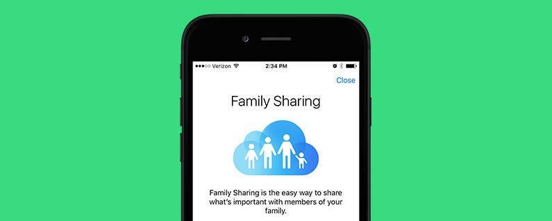 how to change organizer on apple family sharing