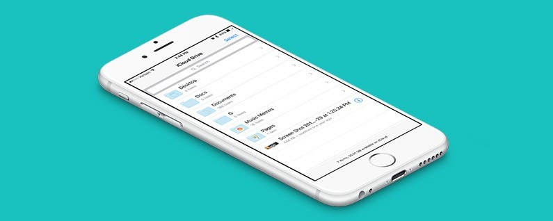 How to Get Files from Your Mac into the iCloud Drive App on Your iPhone - IPhone Tips and Tricks