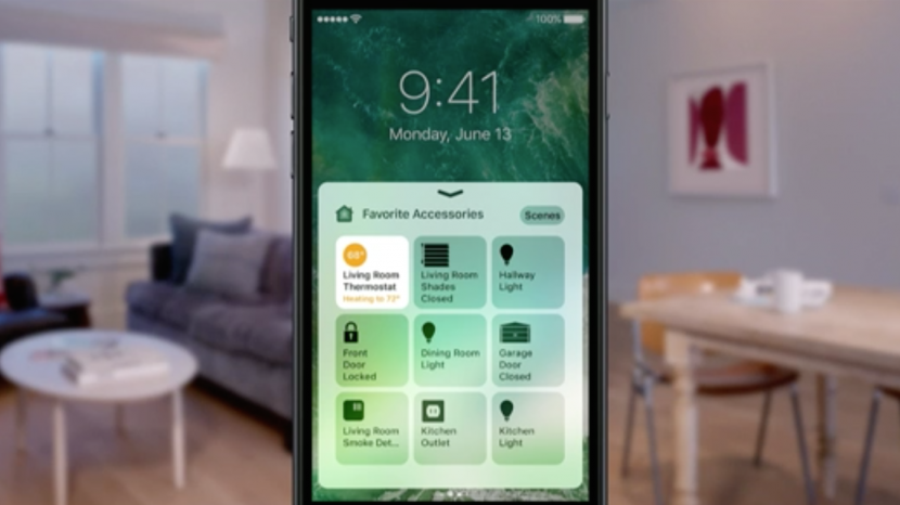 How to Access Your Smart Home from Control Center with iOS 10