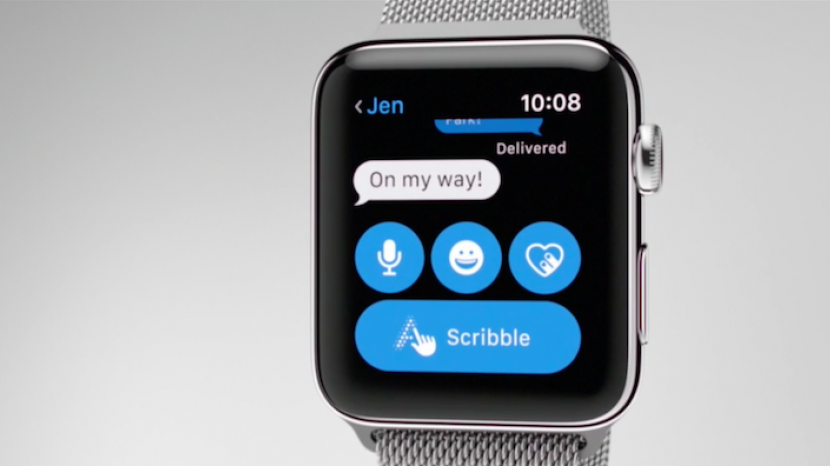 How to Scribble Messages on the Apple Watch