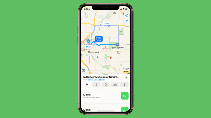 How to Get Public Transit Directions in Maps