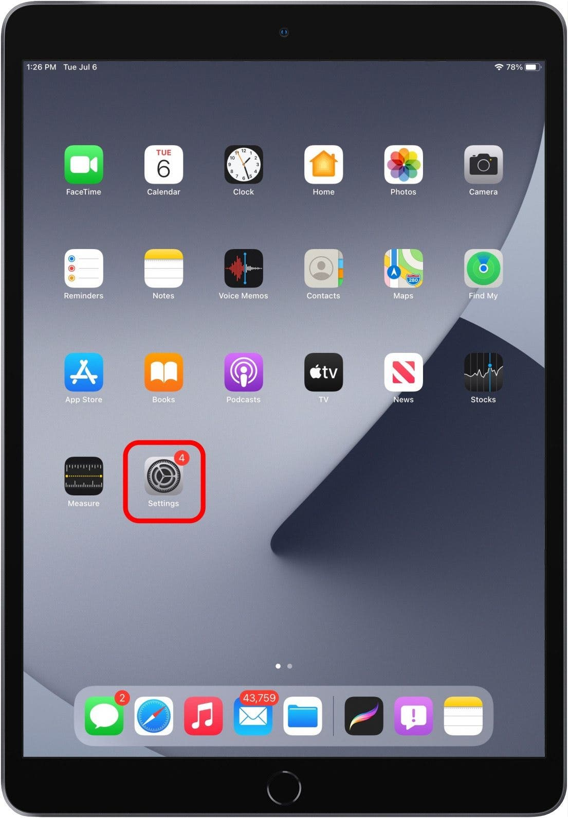 How to Delete Apps from iPad Setting?