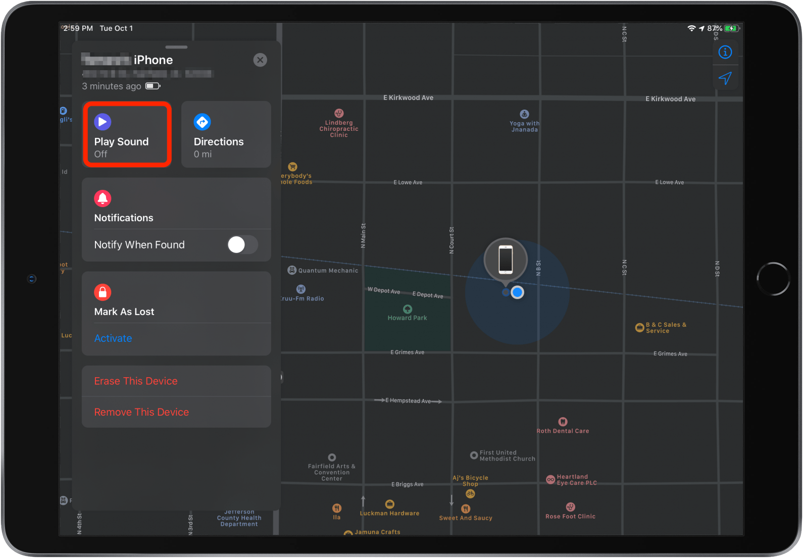 Add your iPad to Find My - Apple Support