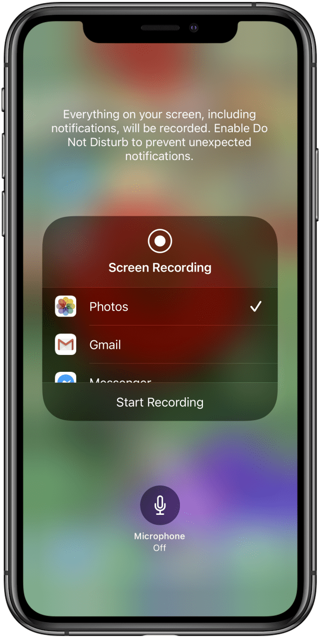 How To Screen Record With Audio On An Iphone Ipad Updated For Ios 14
