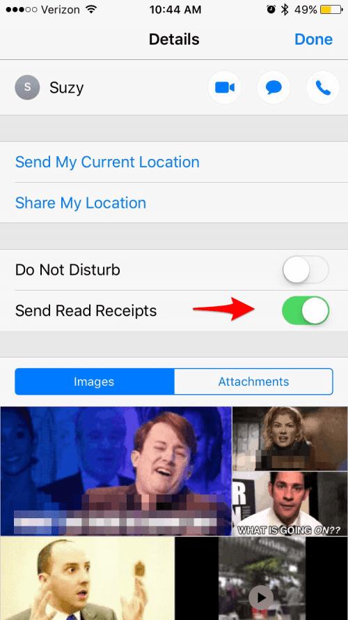 how to turn on read receipts in outlook