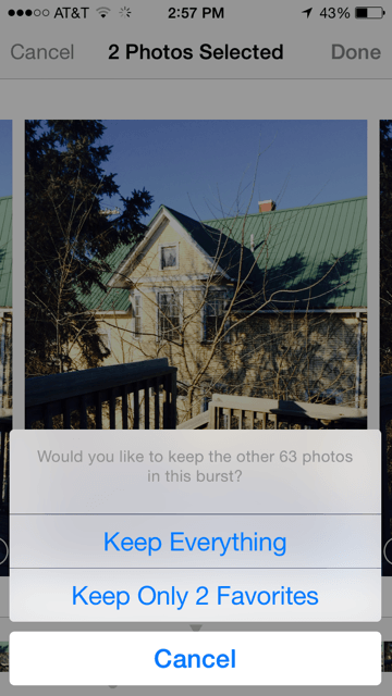 How to Save an Individual Photo from Your Burst Images