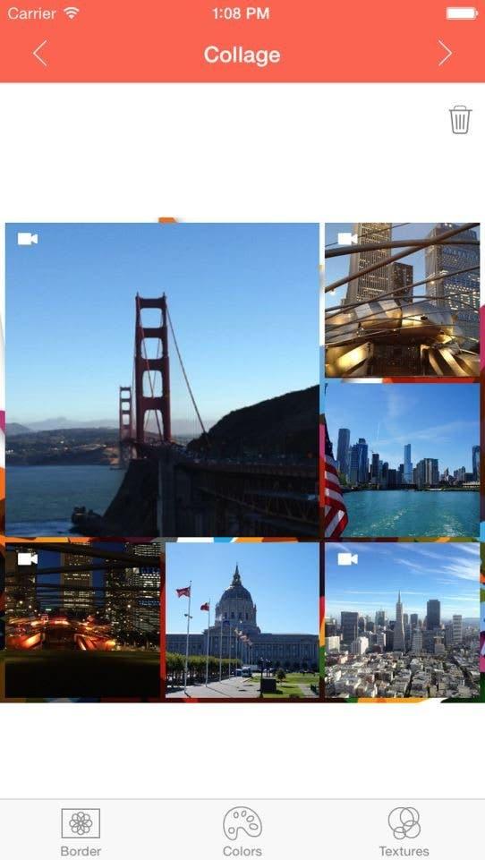 P & V Collage