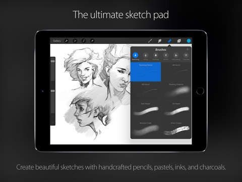Image Gallery Ipad Pro Drawing Apps