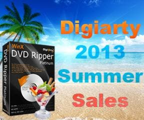 Digiarty Put WinX DVD Ripper Platinum Special Offer up Front in Summer Sale