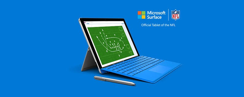 Microsoft Surface Gets the Wrong Kind of Exposure During Playoff Game