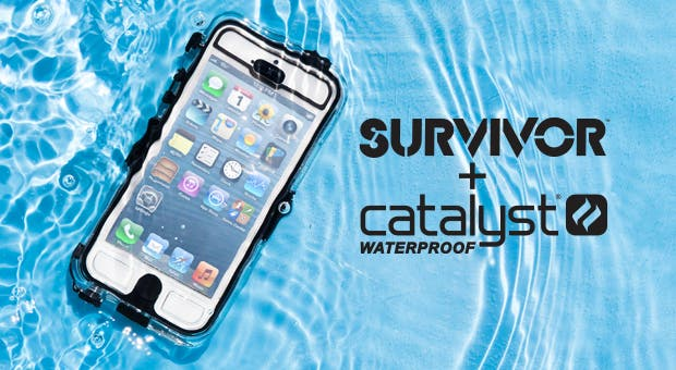 reputable site eeeb6 26f9e Adventure-Proof your iPhone with Griffin's Survivor + Catalyst ...