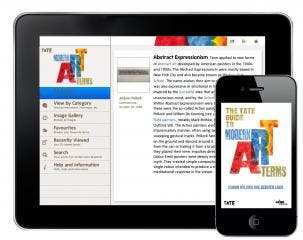 Art app from Tate, the world's most popular Modern art gallery