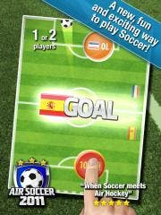 Air Soccer 2011 HD for iPad Released and Featured in 75 Countries