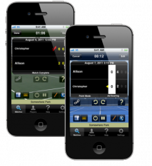 Tennis Score Tracker iPhone Application Reaches Milestone