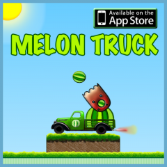 Move Over Angry Birds - The New Physics Puzzler Melon Truck is Here