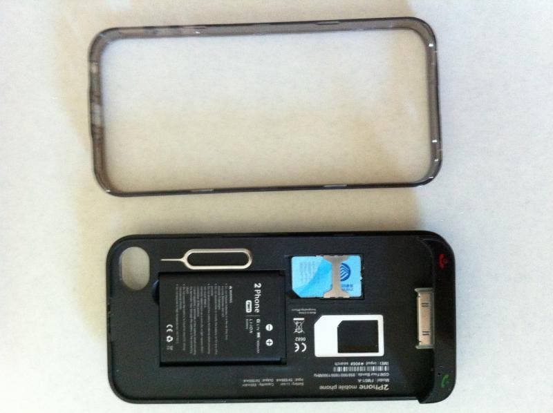 2Phone case internal