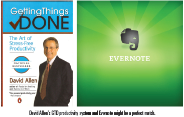 David Allen's Getting Things Done (GTD) and Evernote