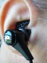 BlueBuds X In-Ear Placement