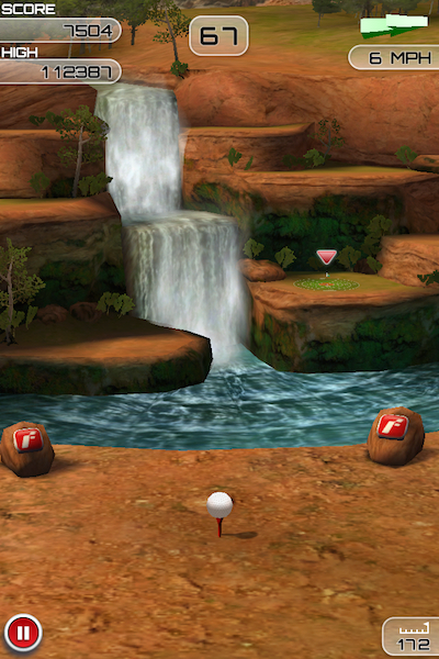Flick Golf Screen 1