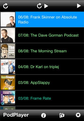 PodPlayer Screen 2