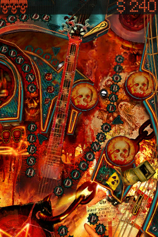 Slayer Pinball Rocks HD Screenshot