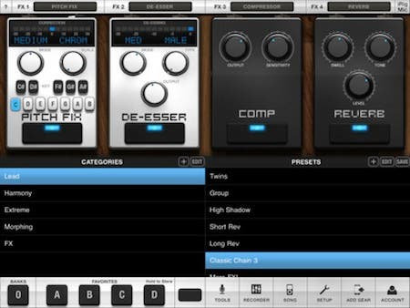 VocaLive for iPad 1