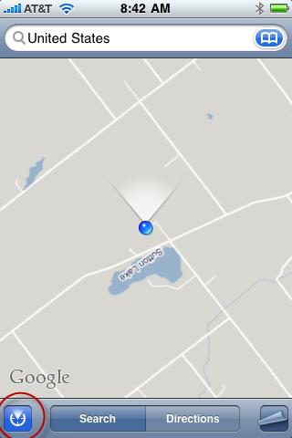 Map Orientation icon